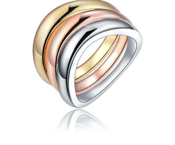 18K Gold Plated Melody Ring