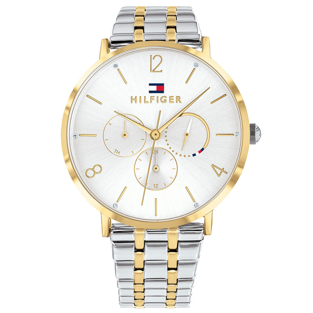 Tommy Hilfiger Multi-function Two-Tone Ladies Watch - 1782032
