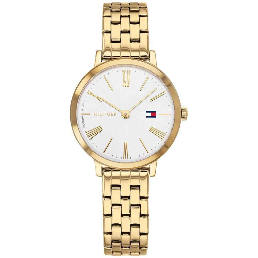 Tommy Hilfiger Classic Gold Steel Ladies Watch - 1782054