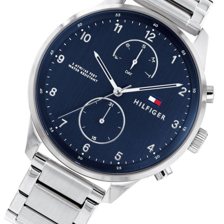 Tommy Hilfiger Classic Multi-function Stainless Steel Men's Watch - 1791575