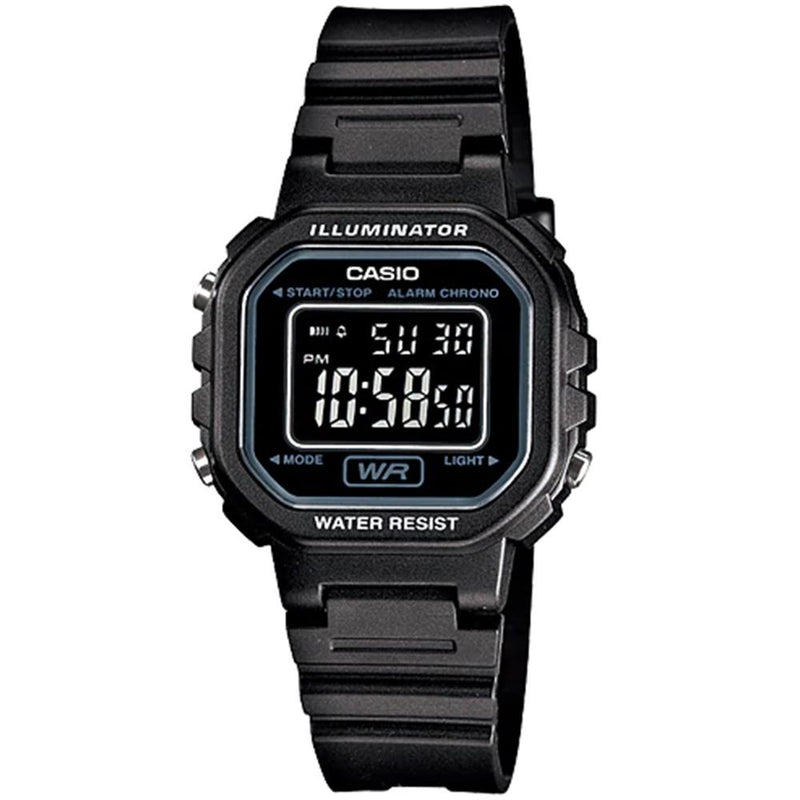 Casio Black Digital Men's Watch - LA20WH-1B