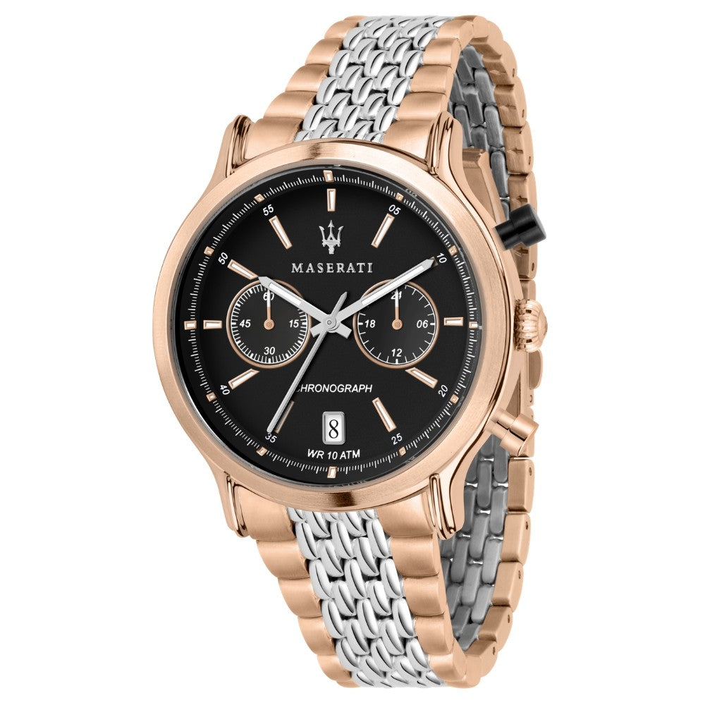 Maserati Epoca 42mm Rose Gold & Stainless Steel Men's Watch - R8873638005