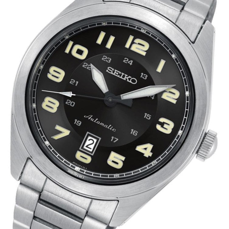Seiko Conceptual Automatic Stainless Steel Men's Watch - SRPC85K