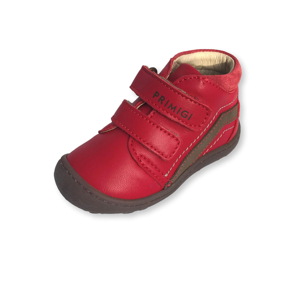 Lurchi Ibo Maroon Low-top Ankle Boots. From Cooshoo fitted children's shoes.