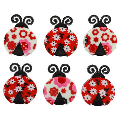 Dress It Up Buttons  Ladybug Love