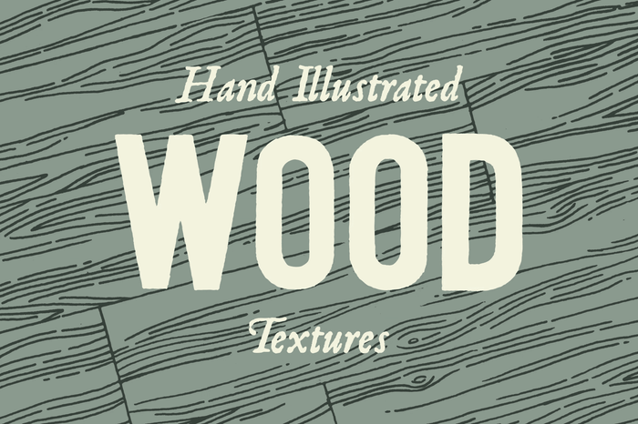 wood grain textures by hand