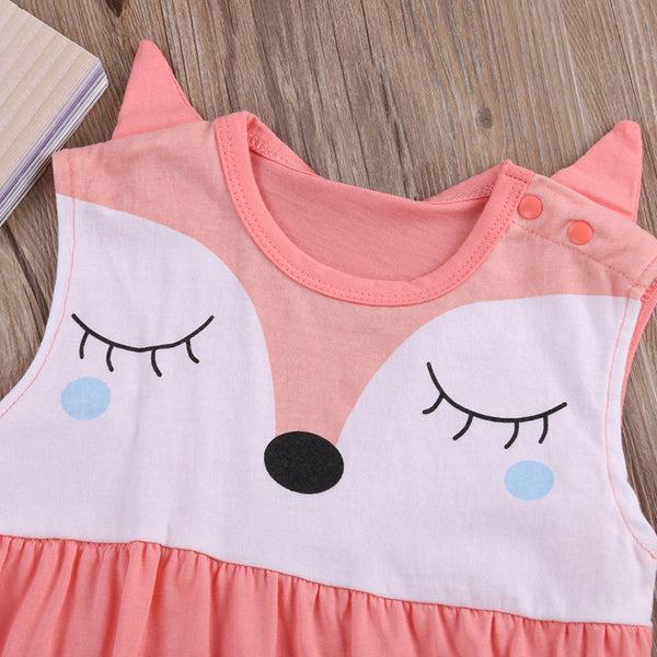 Cute Baby Fox Romper