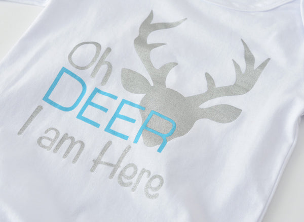 Oh Deer I am Here 3 Pcs