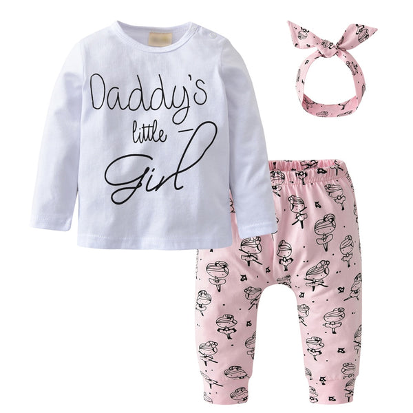 Daddy's Little Girl 3 Pcs Set