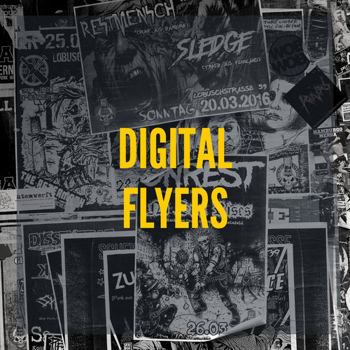 Image of digital flyers.