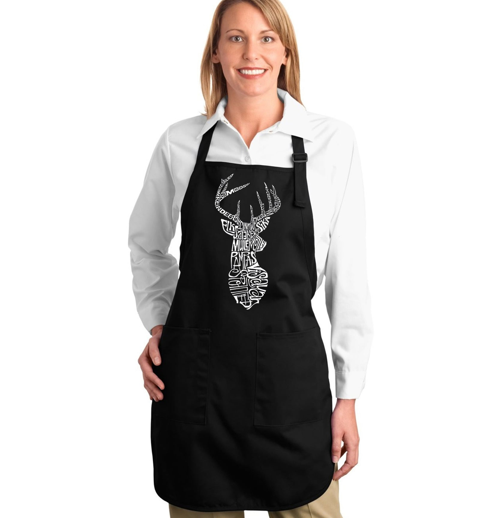 Full Length Apron - Types of Deer