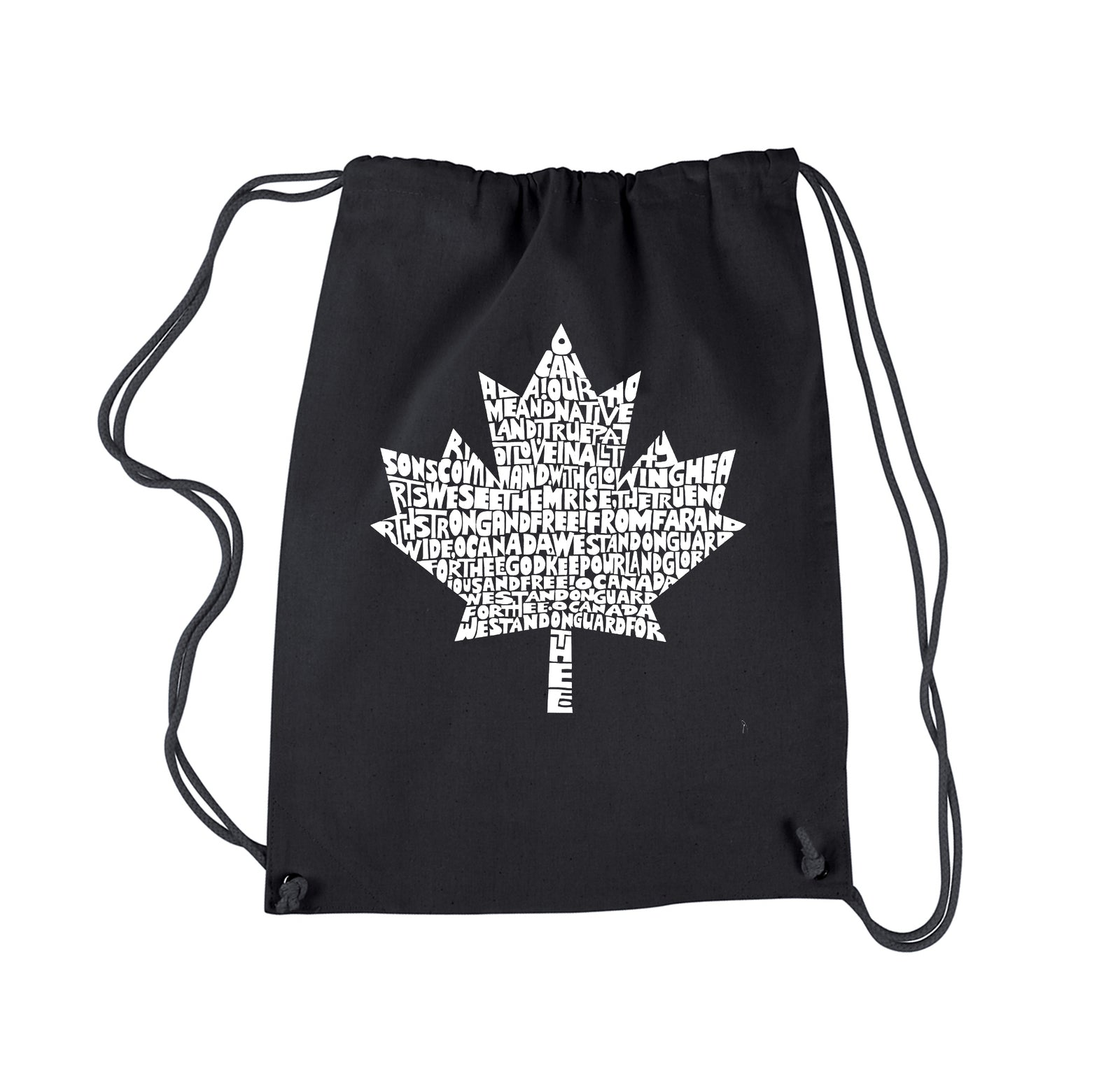 Drawstring Backpack - CANADIAN NATIONAL ANTHEM