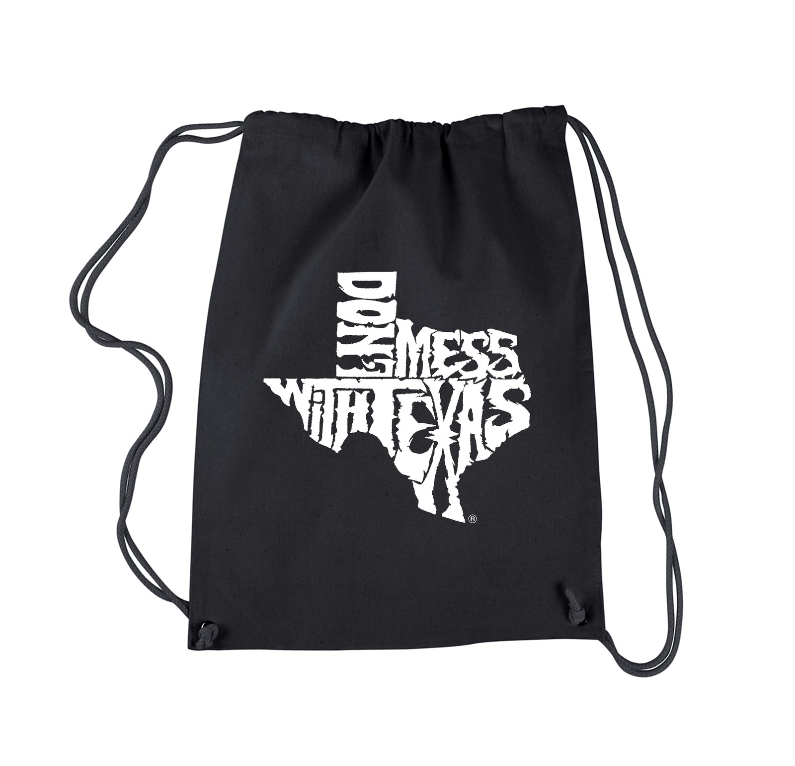 Drawstring Backpack - DONT MESS WITH TEXAS