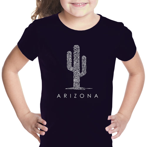 Girl's T-shirt - Arizona Cities