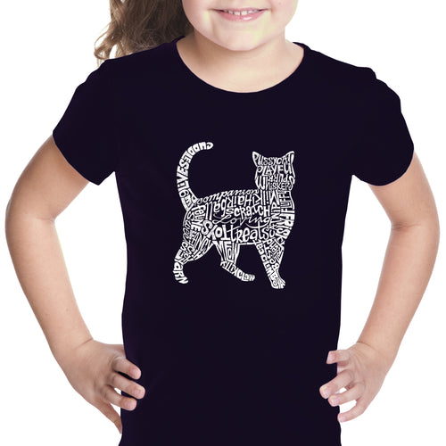 Girl's T-shirt - Cat