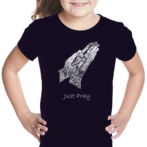 Girl's T-shirt - Prayer Hands