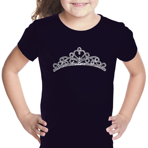 Girl's T-shirt - Princess Tiara