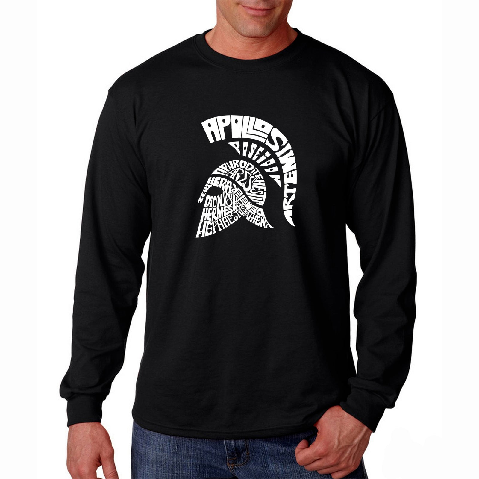 Men's Long Sleeve T-shirt - SPARTAN