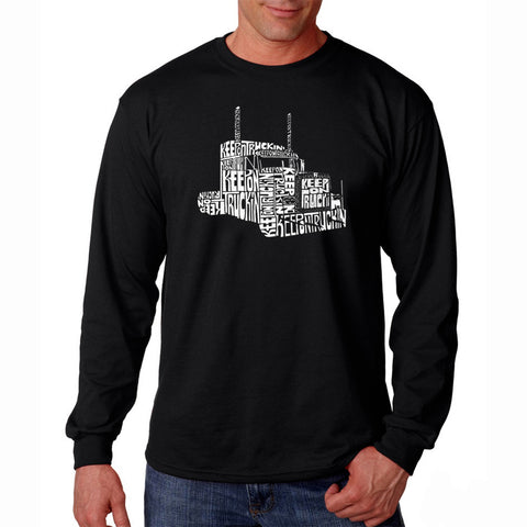 Men's Long Sleeve T-shirt - Master of Puppets