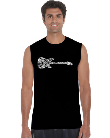 Men's Sleeveless T-shirt - BEACH BUM