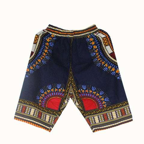 Dashiki Shorts Navy Blue