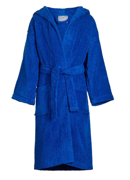 royal blue kids terry robe
