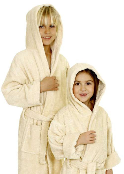 Kids Terry Hooded Bathrobe