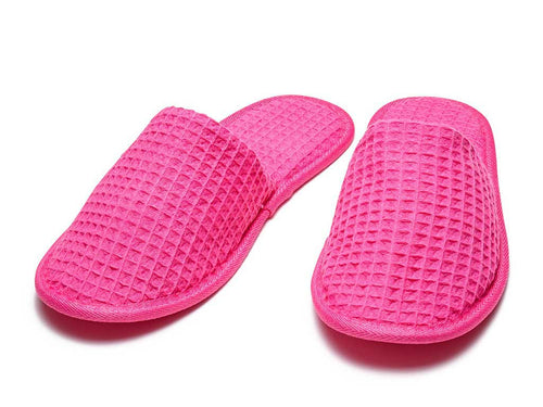Closed Toe Waffle Slippers