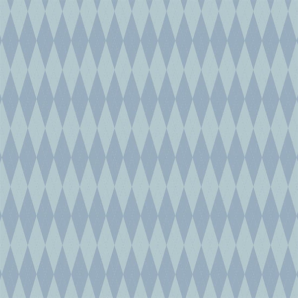 Argyle Photo Backdrop - Baby Boy Blue Backdrops Rachael Mosley