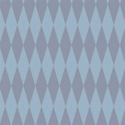 Argyle Photo Backdrop - Blue Backdrops Rachael Mosley