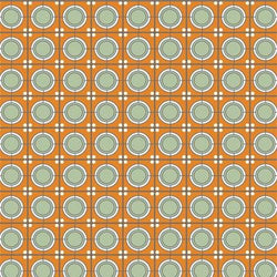 Pattern Photo Backdrop - Arts & Crafts Orange Dots Backdrops Rachael Mosley