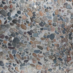 Stone Photo Backdrop - Pebble Beach Backdrops,Floordrops Loran Hygema
