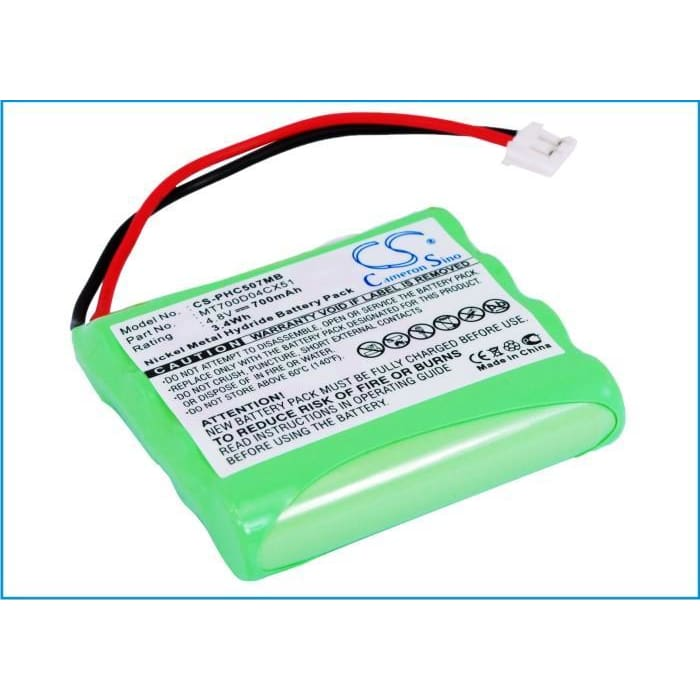 Premium Battery for Philips, Avent Scd 468/84-r, Sbc-eb4880 A1507 4.8V, 700mAh - 3.36Wh