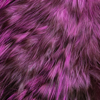 Whiting Bird Fur - Grizzly Dyed Pink
