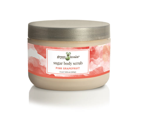 Organic Pink Grapefruit Exfoliating Sugar Body Scrub - 8 oz