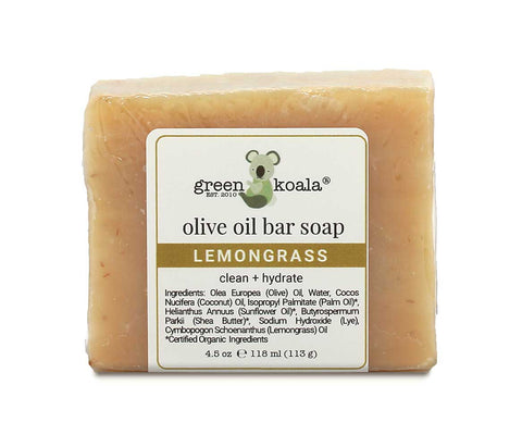 Green Koala Organic Lemongrass Bar Soap