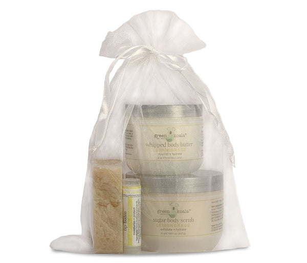 Green Koala Organic Lemongrass Body Care Gift Set