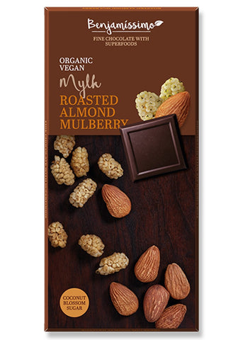 Roasted almond Mulberry (Mylk) - Benjamissimo