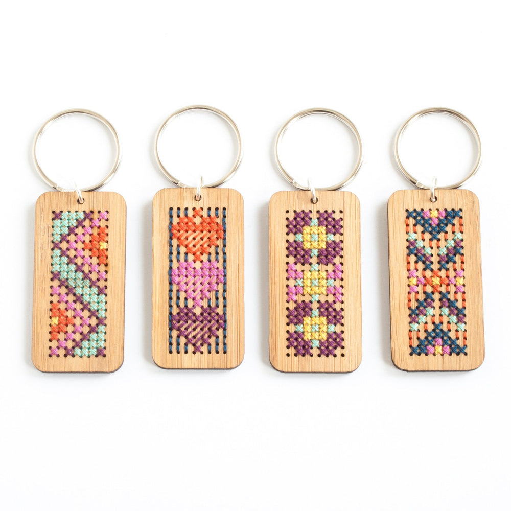 Bamboo Key Ring Kit