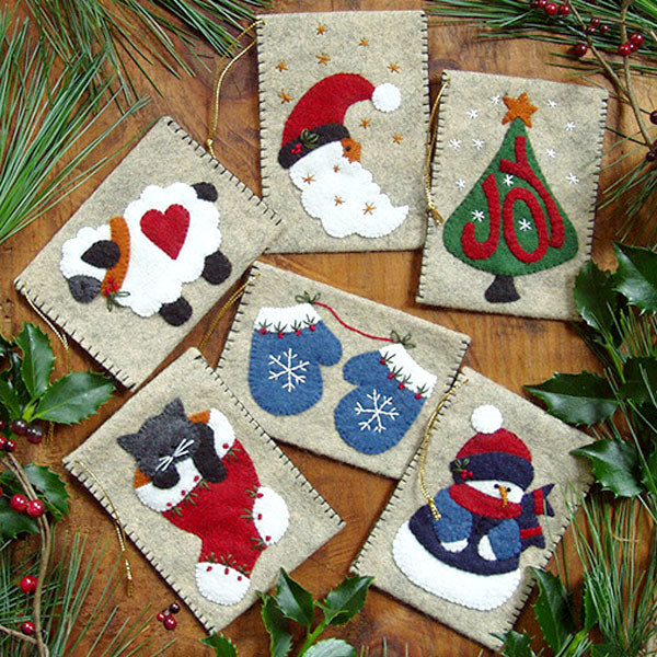 Gift Card Holder Wool Felt Kit