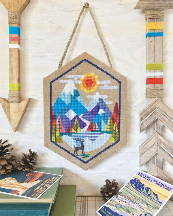 Alpine Cross Stitch Pattern
