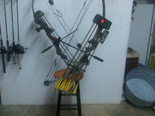 Bow Holder for  Bow Fishing  Boat Mount