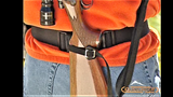 Gunslinger Corral™ Compact Rifle Belt Holster- Black