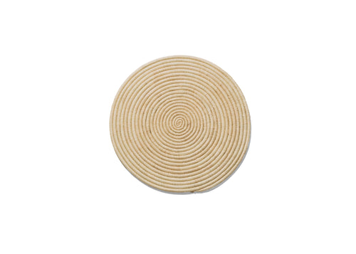 Natural Small Raffia Disc
