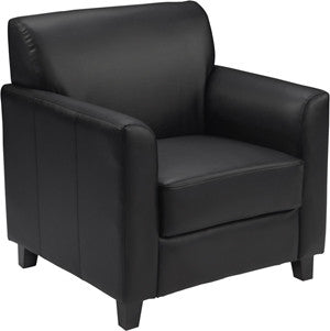 Office Chair City - Reception Chairs For Office, Black Leather Chair, Hercules Chair