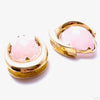 Platform Saddle Spreader Weights with Rose Quartz in 1