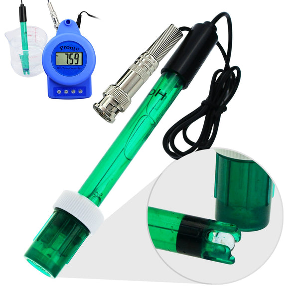 PHM-230 Digital Online pH & Temperature Meter, Water Quality Monitoring Pool Aquarium Tester