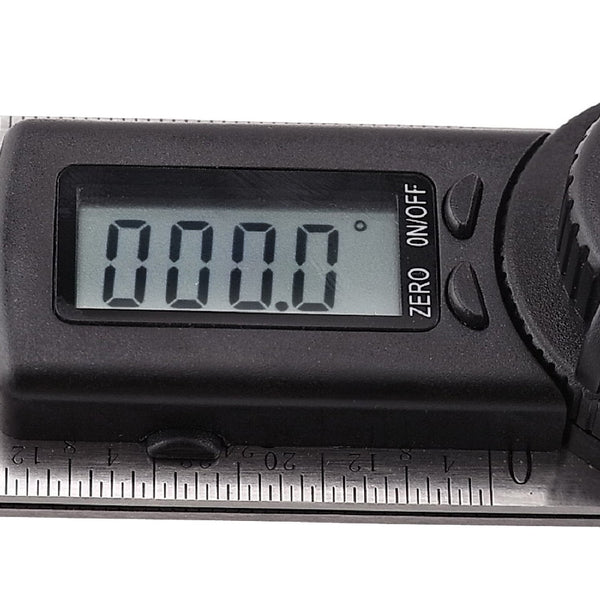 AG-300D Digital 2-in-1 Angle Finder Meter Protractor Ruler 360° 600mm CE marking Digital LCD Display