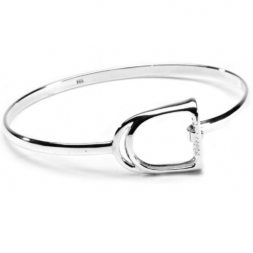Hiho Silver Exclusive Stirrup Bracelet | Sterling Silver - RedMillsStore.ie