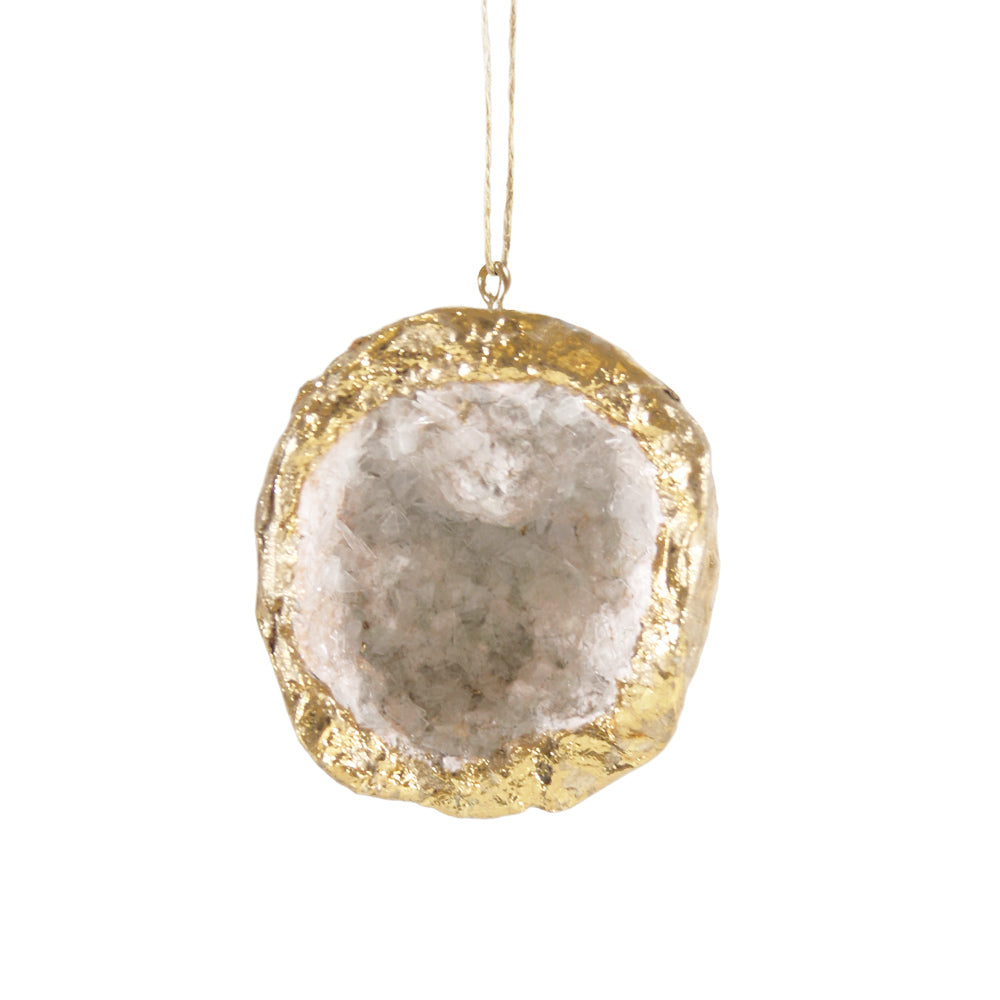 Gold Geode Decoration